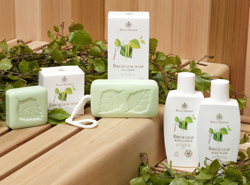 Royal Swedish Birch Leaf & Pine Body Products