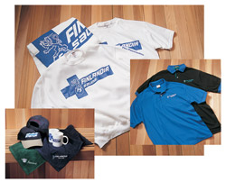Towels, Clothing, and Logo Items
